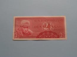 2 1/2 DUA SETENGAH Rupiah > Bank Indonesia ( For Grade, Please See Photo ) ! - Indonesien