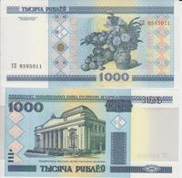 BELARUS 1000 Rubles P 28 A 2000  UNC - Belarus