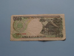 500 LIMA RATUS Rupiah > Bank Indonesia ( For Grade, Please See Photo ) ! - Indonesien
