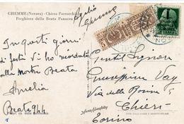CARTOLINA CON AFFRANCATURA INTERESSANTE - 9 - Stamps (pictures)