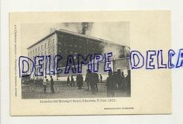 Anvers. Antwerpen. Incendie De L'Entrepôt Royal D'Anvers, 5 Juin 1901. Cliché Edm. Bastijns. Phototypie G. Hermans - Antwerpen