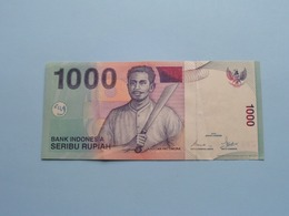 1000 SERIBU Rupiah > Bank Indonesia ( For Grade, Please See Photo ) ! - Indonesia
