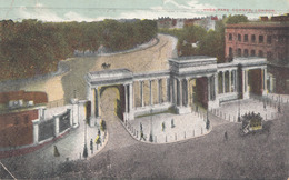 LONDON HYDE PARK CORNER, Karte Gel.1908 - Sonstige