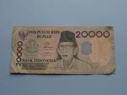 20000 DUA PULUH RIBU Rupiah > Bank Indonesia ( For Grade, Please See Photo ) ! - Indonesien