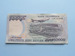 50000 LIMA PULUH RIBU Rupiah > Bank Indonesia ( For Grade, Please See Photo ) ! - Indonesien