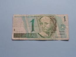 UM 1 REAL > BRASIL ( For Grade, Please See Photo ) ! - Brazil