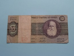 DEZ 10 CRUZEIROS > BRASIL ( For Grade, Please See Photo ) ! - Brésil