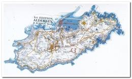 Alderney 2017, Postfris MNH, Map - Armenië