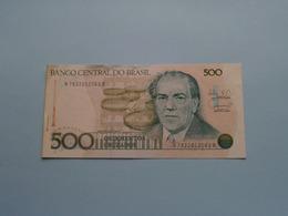 QUINHENTOS 500 CRUZADOS > BRASIL ( For Grade, Please See Photo ) ! - Brésil