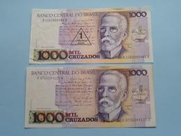 MIL 1000 CRUZADOS > BRASIL ( For Grade, Please See Photo ) ! - Brésil