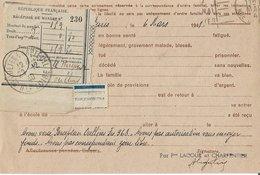 Entier Postal 90c Iris Avec Récepissé De Mandat - Marcophilie (Lettres)