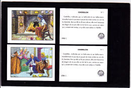 Lot 2 Images, Cendrillon, Editions Educatives, Scolaire, Illustrateur Calvet-Rogniat - Vieux Papiers