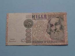 Mille 1000 Lire > 1982 Banca D'Italia ( For Grade, Please See Photo ) ! - [ 2] 1946-… Republik