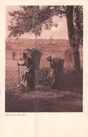 Au Retour Du Bois- S.2. Campagne Romande - Femmes Avec Hottes - Tampon Du Petit Lancy - Charnaux Genève - Zwitserland