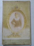 Photographie De Cabinet - Portrait Albuminé Marin. Photo Jacomin  Toulon - War, Military