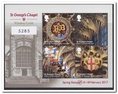 Engeland 2017, Postfris MNH, St. Gerorge's Chapel - Armenië