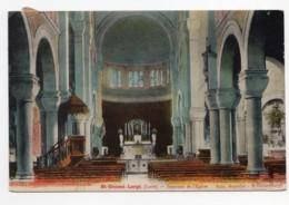 Saint-Genest-Lerpt  (Loire)  Intérieur De L'église - France