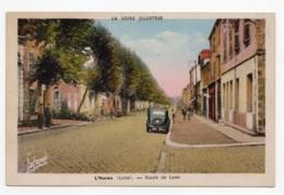 L'Horme (Loire)   Route De Lyon - France