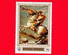 Nuovo - MNH - RWANDA - 1969 - Dipinto Di Jacques-Louis David (1748-1825) - 200° Della Nascita Di Napoleone - 20 - 1962-69: Nuovi