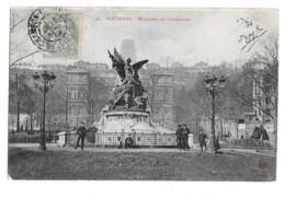 Saint-Etienne (Loire)  Monument Des Combattants     LES 2 CARTES - Saint Etienne