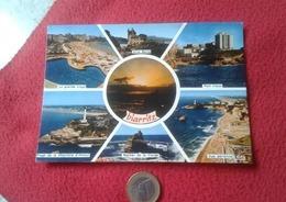 POSTAL POST CARD CARTE POSTALE BIARRITZ FRANCIA DIVERSOS ASPECTOS VER FOTO/S Y DESCRIPCIÓN. FRANCE - Francia