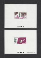 POLYNESIE .  YT  Epreuve DeLuxe  PA  N° 17/18  Neuf **  1966 - Imperforates, Proofs & Errors