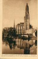 85 - SAINT-LAURENT-sur-SEVRE - Basilique Du Père De Montfort Et Clocher De La Chapelle De La Sagesse - Sonstige Gemeinden