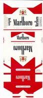 Rare Etui à Cigarettes MARLBORO Non Plié - Empty Cigarettes Boxes