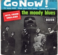 The Moody Blues - Go Now - It's Easy Child - Steal Your Heart Away - Loose Your Money - DECCA 457.057 - 1965 - Rock