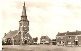 LES MOËRES  --  L'Eglise Et Le Presbytère - Hondshoote