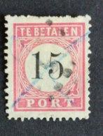Ned.Indië - Port Nr. P8B T.I (gestempeld/used) - India Holandeses
