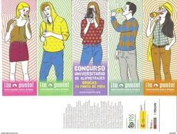 """Bookmark Marcapagina !tu Punto"""" Informacion Sobre Drogas - Marcapáginas"""