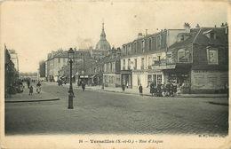 YVELINES. VERSAILLES. Rue D'Anjou - Versailles