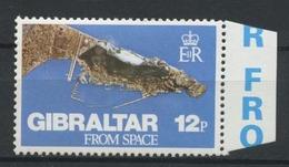GIBRALTAR 1978 N° 371 ** Neuf MNH Superbe Vue Du Ciel Photo Prise Par Skylab 3 - Gibraltar