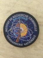 Écusson Gendarmerie IRCGN Balistique - Police & Gendarmerie