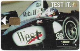 Spain - Telefónica - West Tobacco Formula 1 - CP-190 - 07.2000, 11.600ex, Used - Spanje