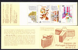 Spain 1986 Entry EU  Booklet  ** Mnh (44504) - Europese Gedachte