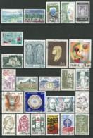 FRANCE: Obl., N°1863 à 1913, Année 1976 Complète Sf N°1895A/C, Sans PA Préo Et S., TB - 1970-1979