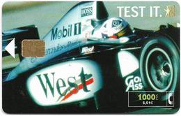 Spain - Telefónica - West Tobacco Formula 1 - CP-194 - 12.2000, 11.300ex, Used - Espagne