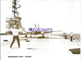119076 AVIATION AVIACION BREGUET 1050 ALIZE PHOTO NO POSTAL POSTCARD - Aviation