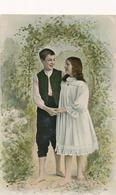 CPA - Thèmes -  Portrait De Couple D'enfants - Garçon - Fille - Portraits