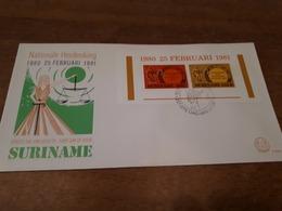 Old Letter - Netherlands Antillen - Surinam