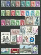 FRANCE: Obl., N°1962 à 2027, Année 1978 Complète Sf N°1981, Sans PA Préo Et S., TB - 1970-1979