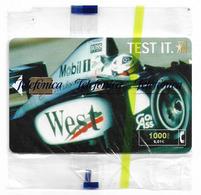Spain - Telefónica - West Tobacco Formula 1 - CP-195 - 12.2000, 6.01€, 3.075ex, NSB - España