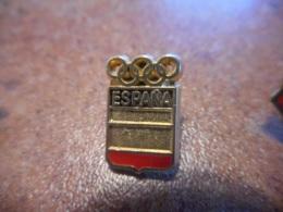 A038 -- Pin's Blason Espana - Ciudades