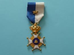 Médaille Anciens Combattants De LAEKEN - Belgique