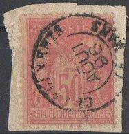 Oblitération Chargements LE MANS - 1876-1898 Sage (Type II)