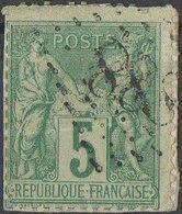 Oblitération Jour De L'an Losange 888 - 1876-1898 Sage (Type II)