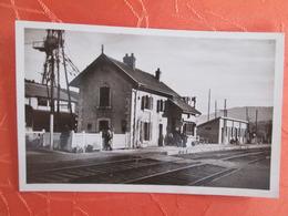Genessiat . La Gare . Carte Photo - Génissiat