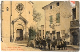 SAINT SATURNIN D' APT - Place De La Mairie - La Mairie  (1462 ASO) - France